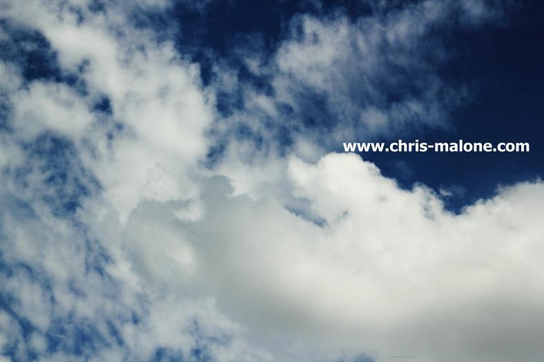Clear blue Memphis sky