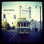 My favorite picture! Although, I've never been on a hometown trolley, but I'm usually the one to get stuck behind one downtown...Why not snap a picture, can't go wrong travelling 10 mph :)