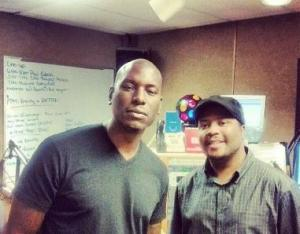 Tyrese Gibson Live In Studio Interview w/ Chris Malone