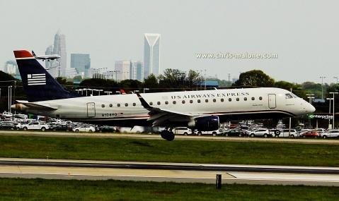 Landing in Charlotte
