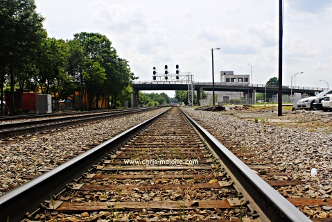 Riding the tracks- Greensboro, NC