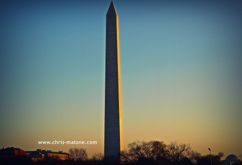 Washington Monument tag